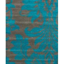 Bella Vittoria Grey/Blue Area Rug