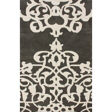 Fancy Pewter Vicentina Area Rug