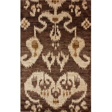 Sophist-Ikat Herman Ikat Brown Rug