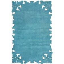 Posh Turquoise Area Rug