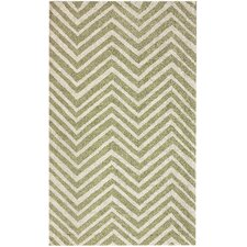 Chelsea Chevron Green Rug