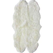 Sheepskin Shag Quatro Sheepskin Natural Rug