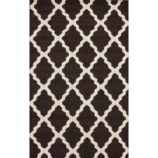 Moderna Brown Marrakech Trellis Area Rug