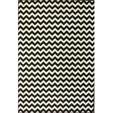 Allure Chevron Ivory Area Rug