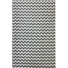 Poise Chevron Light Blue Area Rug