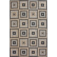 Villa Outdoor Haler Brown Rug