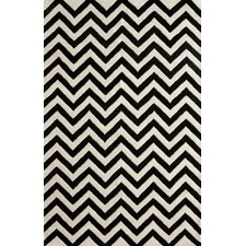 <strong>nuLOOM</strong> Gradient Chevron Black Rug