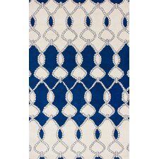 Fancy Navy Nexus Rug