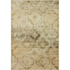 Flux Shag Natural Persian Tower Trellis Rug