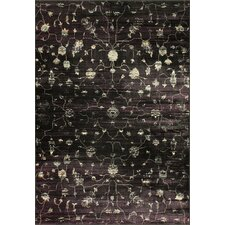 Flux Shag Midnight Open Field Rug