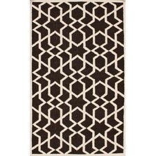Gelim Brown Trellis Rug