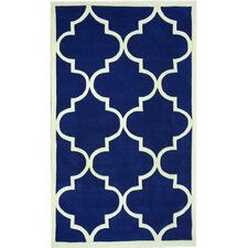 Cine Pacific Blue Jillian Trellis Rug