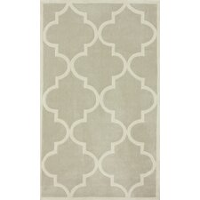 Cine Neutral Trellis Rug