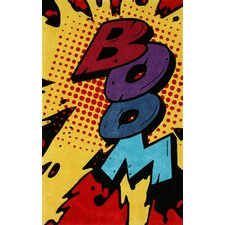 Cine Boom Novelty Outdoor Area Rug