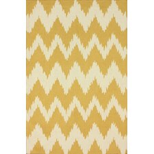 Pop Mustard Dola Area Rug