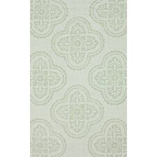 Pop Light Celadon Min Trellis Rug