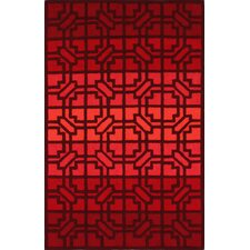 <strong>nuLOOM</strong> Trellis Fire Red Wendy Rug