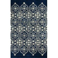 <strong>nuLOOM</strong> Moderna Regal Blue Farah Rug