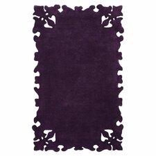 Elegance Simplicity Purple Area Rug