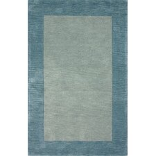 Brilliance Ice Blue Simplicity Area Rug