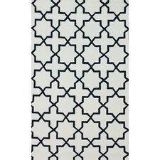 Pop Regal Blue Lin Trellis Rug