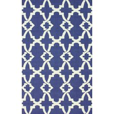 Trellis Regal Blue Alice Rug