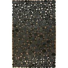 Hides Bubbles Black/Grey Geometric Area Rug