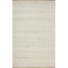 <strong>nuLOOM</strong> Brilliance White Solid Border Rug