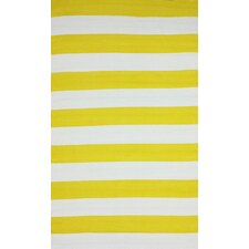 Brilliance Yellow Nautical Bold Rug