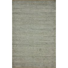 Brilliance Grey Solid Border Rug