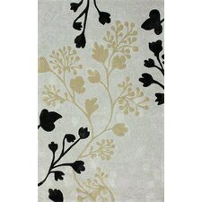 <strong>nuLOOM</strong> Cine Grey Fall Leaves Rug