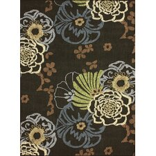 Pop Dark Brown Capri Rug