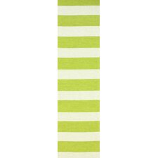 Serendipity Green Alina Stripes Rug