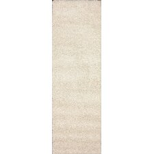 Shag White Plush Area Rug