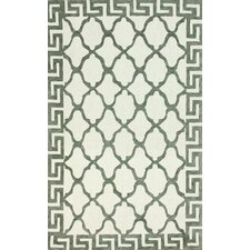 Brilliance White Courtney Rug