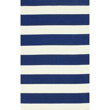 Serendipity Navy Alina Stripes Area Rug