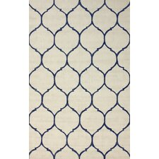 Brilliance Ivory Tina Plush Rug