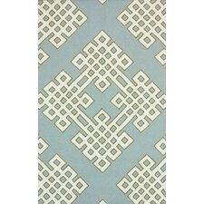 Serendipity Blue Infinity Rug