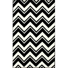 Gradient White/Black Sorrento Area Rug