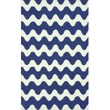 Serendipity Blue Flourish Rug