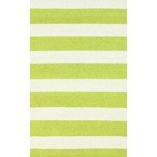 Serendipity Green Alina Stripes Rug