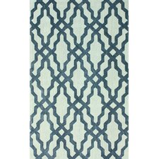 Brilliance Blue Viv Plush Rug