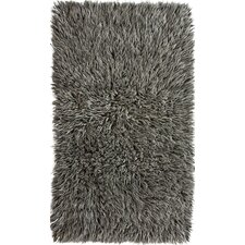 Flokati Gray Area Rug