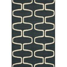 Serendipity Charcoal Trellis Area Rug
