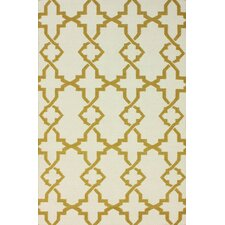 Flatweave Mustard Willow Rug