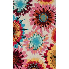 Fergie Flower Area Rug