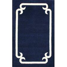 Elegance Navy Marion Area Rug