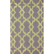 Homestead Yellow/Purple Heather Geometric Area Rug