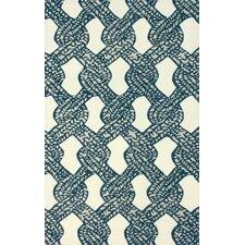 Goodwin White/Blue Sandra Area Rug