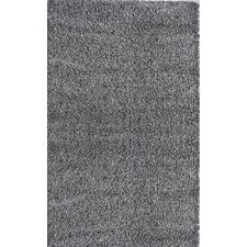 Shag Grey Plush Rug